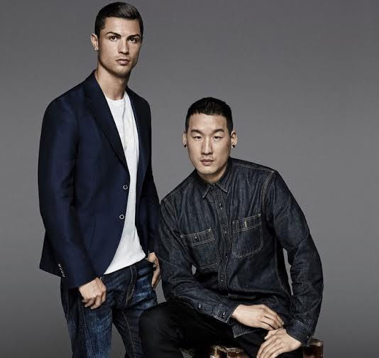 Cristiano Ronaldo e Richard Chai