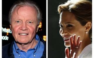 Angelina Jolie e pai