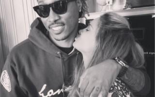 Ciara e o rapper ficaram noivos no passado mês de outubro