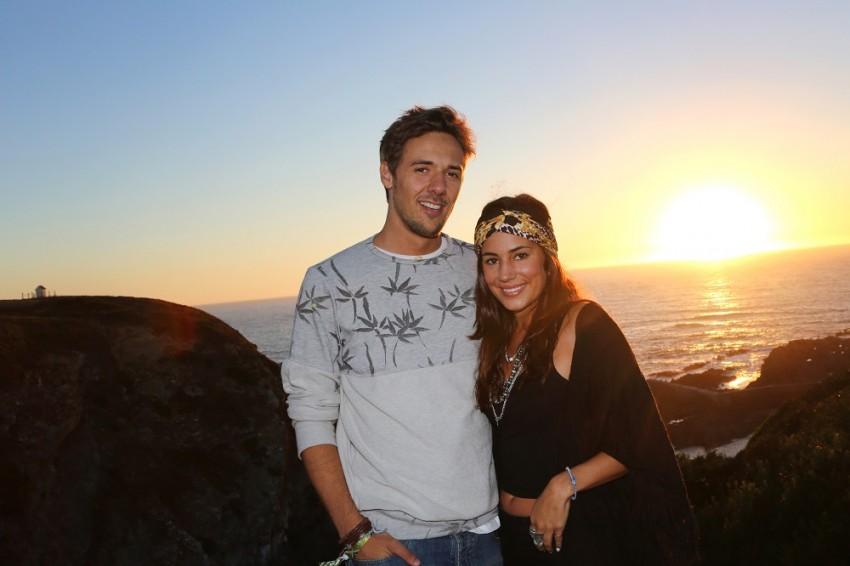 Mia Rose e o namorado, Miguel