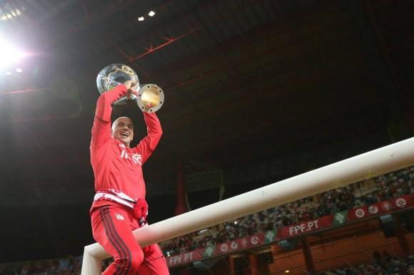 Paulo Lopes partiu o troféu