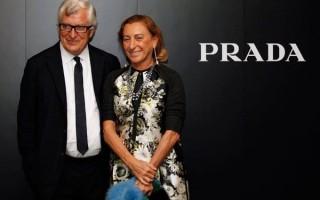 Miuccia e Patrizio Prada