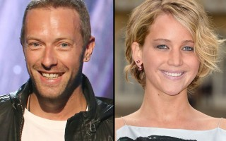 Chris Martin Jennifer Lawrence