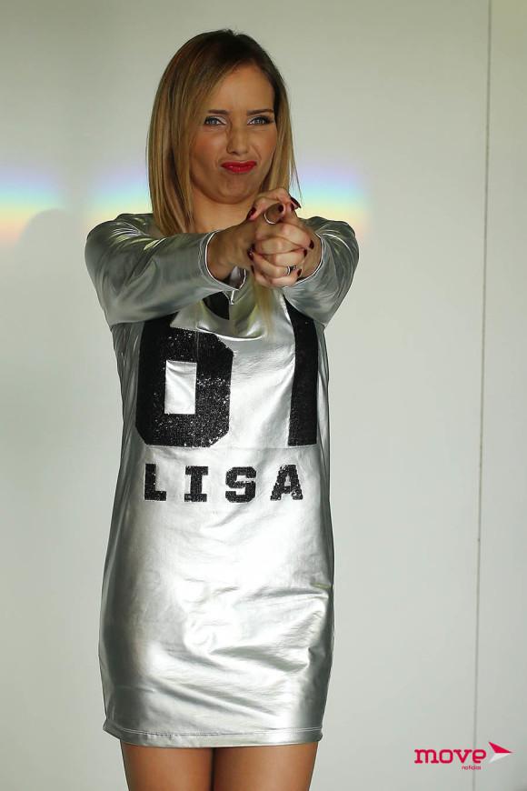 Luciana Abreu fotografou    para a marca de roupa Lisa