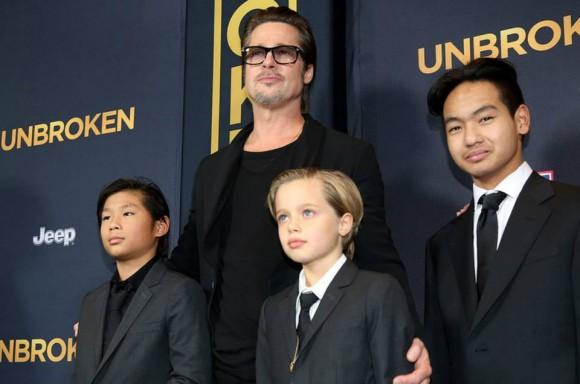 Brad Pitt filhos