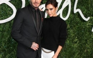 British Fashion David & Victoria Beckham