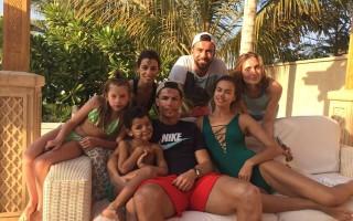 Cristiano Ronaldo e Irina Shayk, no Dubai, a última foto do casal tornada pública