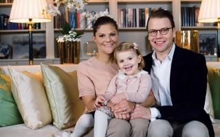 Kronprinsessfamiljen på Haga, november 2014