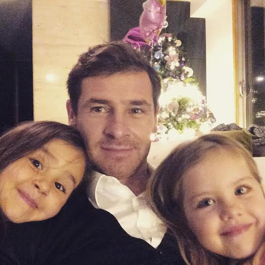 Photo of André Villas-Boas & his  Daughter  Benedita Villas-Boas
