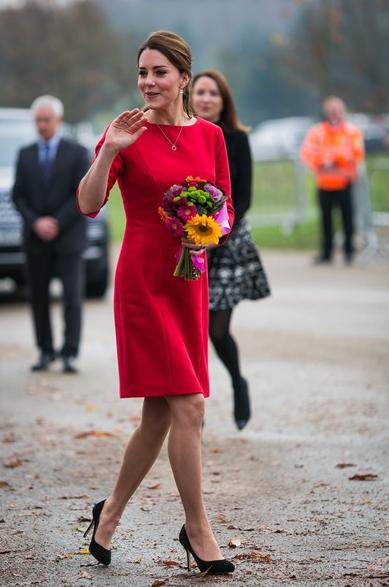 Kate Middleton em Katherine Hooker
