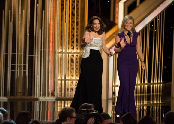 Amy Phoeler e Tina Fey foram as apresentadoras de serviço
