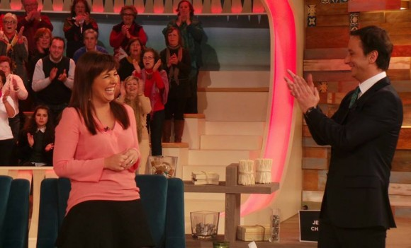 O momento em que apresentadora anunciou a gravidez