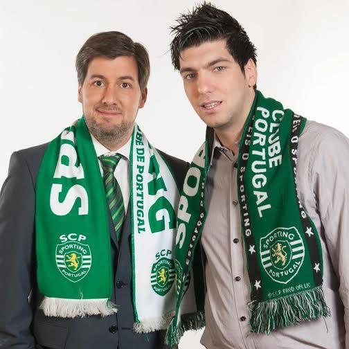 O concorrente da Casa dos Segredos com o presidente do Sporting, Bruno Carvalho