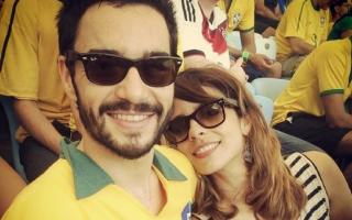 Caio Blat e Maria Ribeiro separaram-se ao fim de sete anos.
