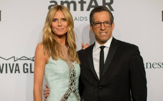 amFar Heidi Klum e Kenneth Cole
