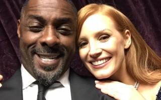 Idris Elba e Jessica Chastain
