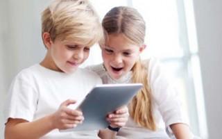 tablet crianças