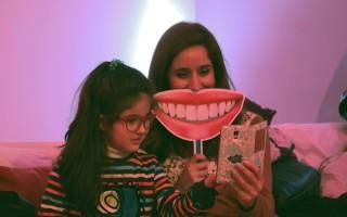 Marta Fernanda com a filha Maria