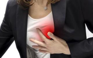 mulher ataque cardiaco