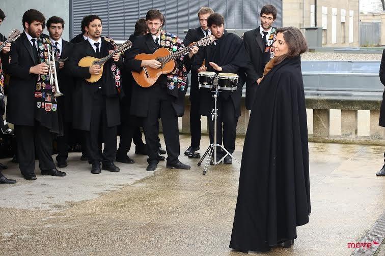 Tuna da Faculdade de Medicina da Universidade do Porto cantou para Dona Isabel