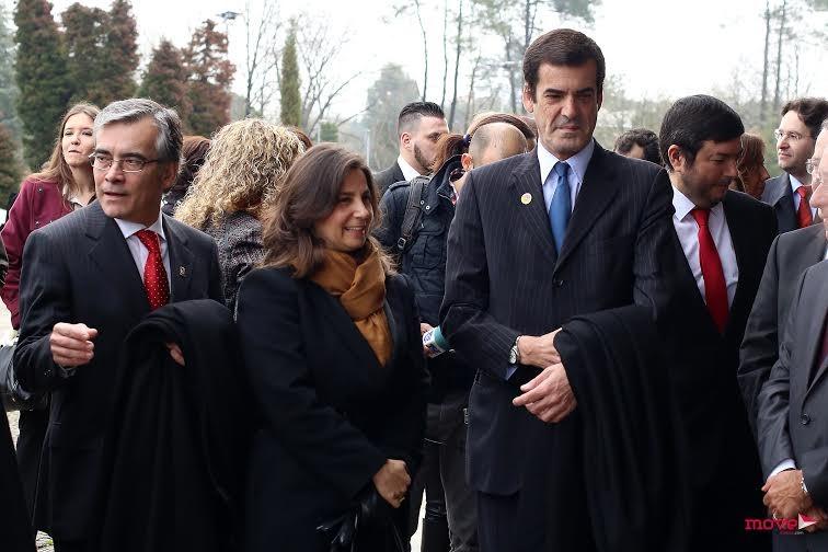 António Ferreira, Isabel Herédia e Rui Moreira