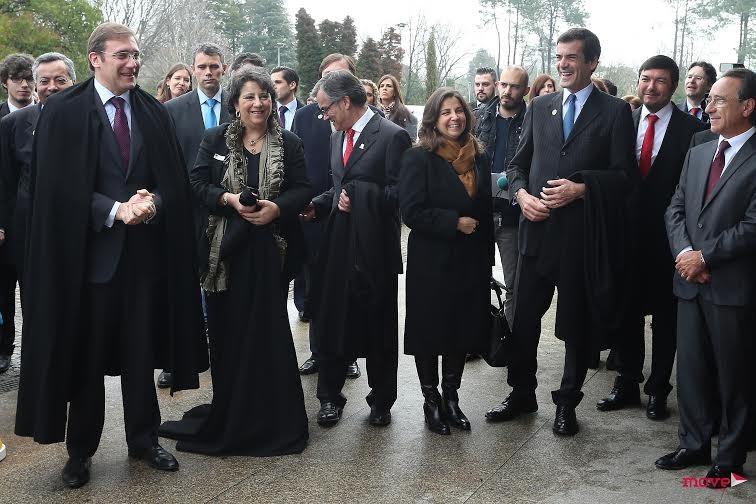 Pedro Passos Coelho, Maria Amélia Ferreira, António Ferreira, Isabel Herédia e Rui Moreira