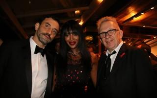 Amfar Riccardo Tisci, Naomi Campbell, Jean Paul Gaultier