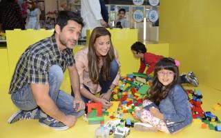 Andreia Dinis com o marido, Daniel, e a filha, Flor_2