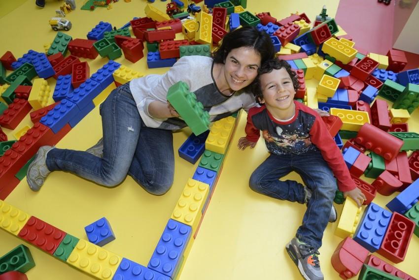 Carla Chambel e o filho João