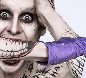 More of what you see: Filme Suicide Squad (Esquadrão Suicida) em 2016 ... Joker Smile Png