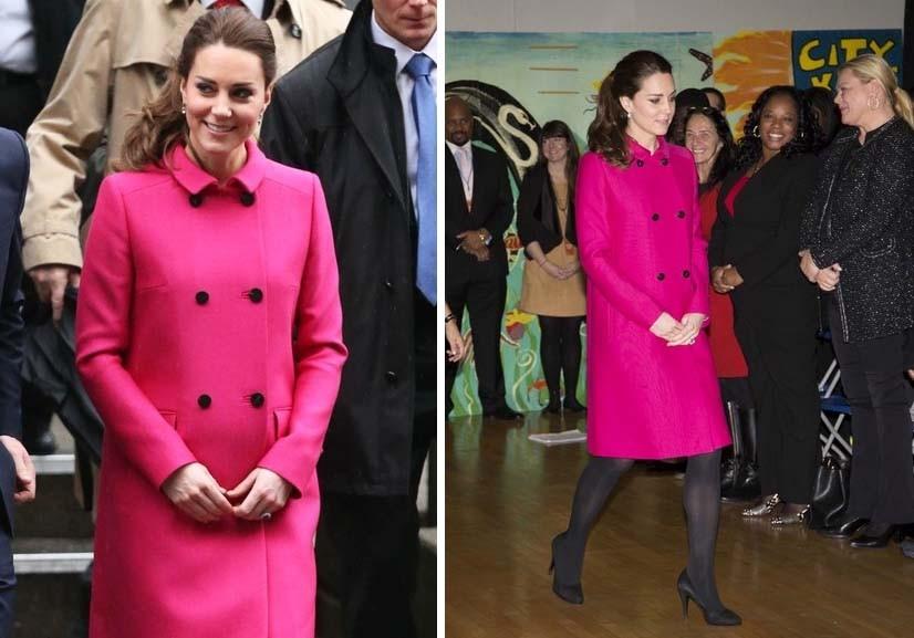O casaco Mulberry que deu que falar durante a viagem a Nova Iorque