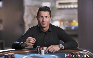 Cristiano Ronaldo PokerStars Press Image 1