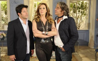 Jacques Leclair (Alexandre Borges), Victor Valentin (Mutilo Benicio) e J...