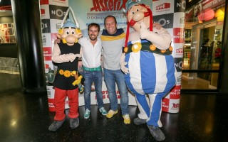 Manuel Marques (ASTERIX) e e Eduardo Madeira (Obelix)