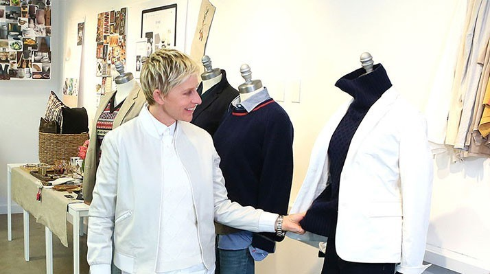 b3d52e0f77d Ellen DeGeneres lança marca de roupa - MoveNotícias