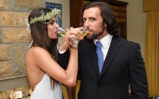 Cuca Roseta e João Lapa casaram numa cerimónia íntima em julho.