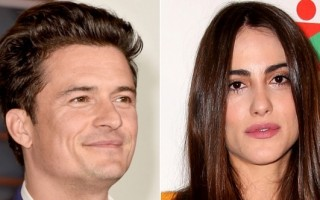Orlando Bloom Luisa Moraes
