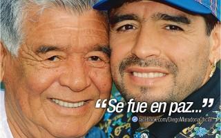 Diego Maradona, pai de Maradona