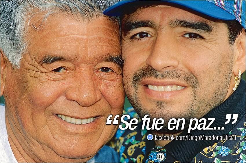 Diego Maradona está de luto - MoveNotícias