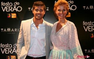 Lourenço Ortigão e Cristina Ferreira