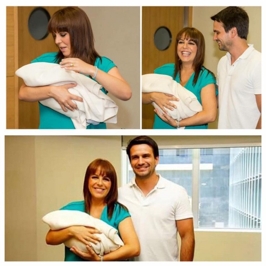 Tânia Ribas de Oliveira e João Cardoso deram as boas-vindas ao segundo filho em comum, Pedro.