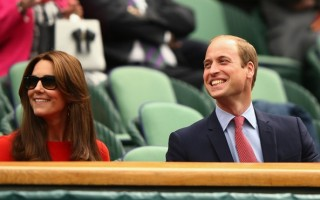 William Kate Wimbledon1