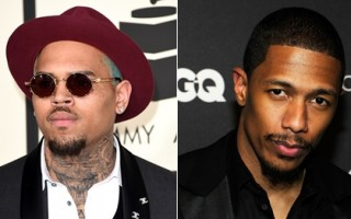 Chris Brown Nick Cannon