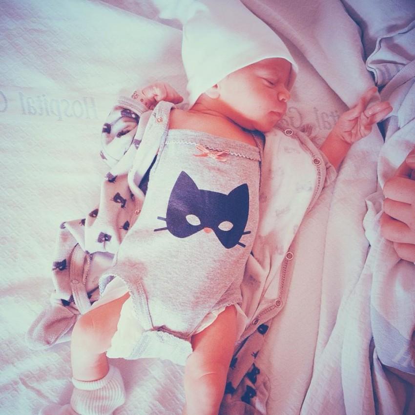 A apresentadora do 24Kitchen, Filipa Gomes, deu à luz a Julieta.