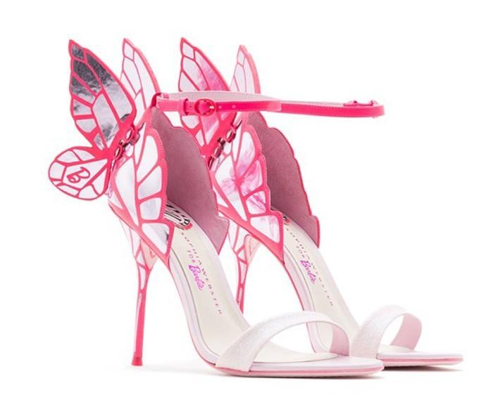 Sapato da Barbie rosa salto alto | Sapatos da barbie