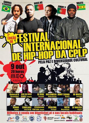Festival Internacional de Hip Hop cartaz