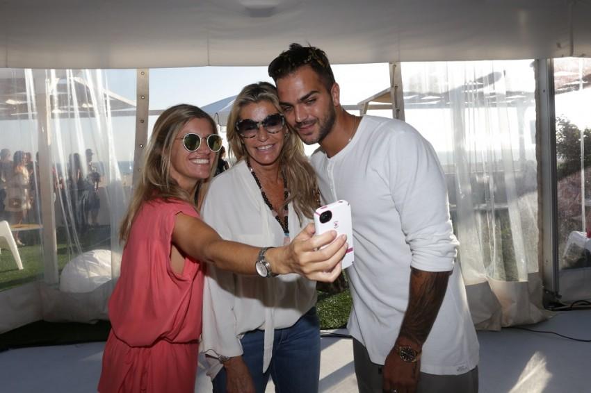 Sofia e Cinha Jardim com Ruben Cruz
