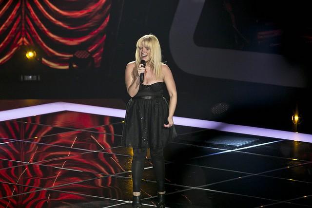 """Joana Melo arrepiou o The Voice com """"Ó gente da minha terra"""""""
