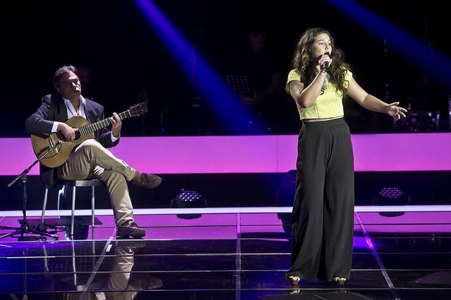 """Beatriz Felício entrou no """"The Voice"""" com o fado """"Rosa Branca"""""""