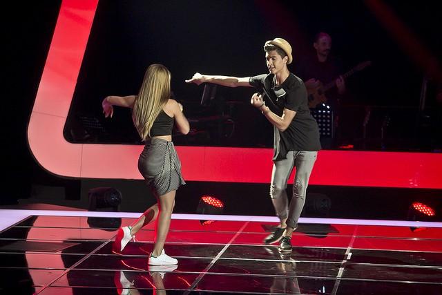 Edmundo Inácio não convenceu os mentores a cantar, mas deslumbrou com o seu talento para a dança